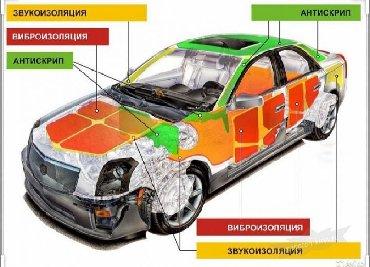 Автоуслуги - Ленинское: Шумоизоляция всех видов авто . Цена договорная. w/a