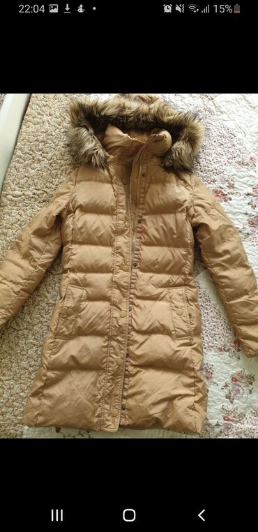 пуховики на зиму в Кыргызстан: Зимняя куртка, 100% пуховик, фирма TOMMY HILFIGER