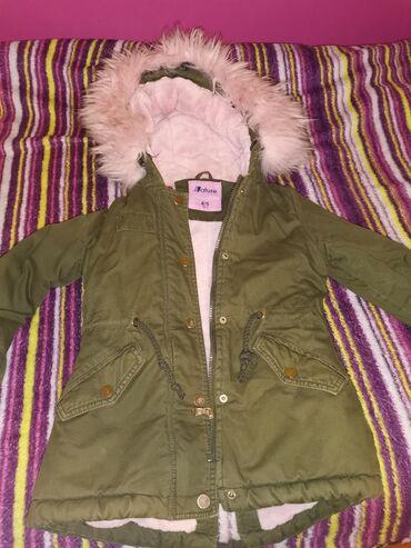 Dečije jakne i kaputi | Indija: Zimska jaknaJako topla, postavljena polarom, ima cicu na kapuljaci