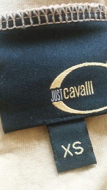 Cavalli bluzica original XS sa elastinom i svetlucavom stampom. Kao
