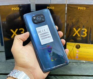 XİAOMİ POCO X 3. RAM 6. YADDAS 128. NFC.Bagli Qutuda. Bütün