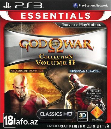 Bakı şəhərində Ps3 *god of war - collection 2*
