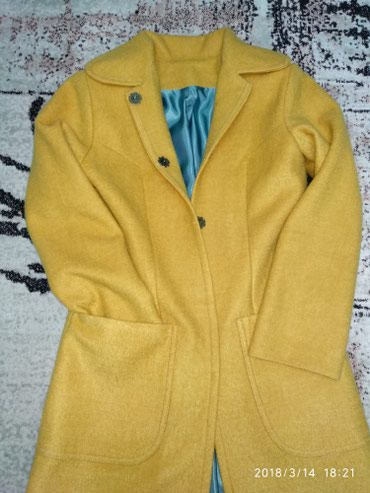 Пальто, осень-весна, сшито на заказ, в Бишкек