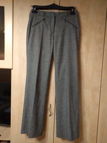 Sive spricane tvid pantalone, prijatnog opipa, mladalačkog kroja br - Palic