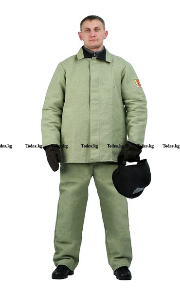 Костюм брезентовый сварщика (рабочая одежда)Костюм – куртка и брюки