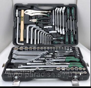 Набор инструментов AEROFORCE 132 предмета Характеристики Основные Про