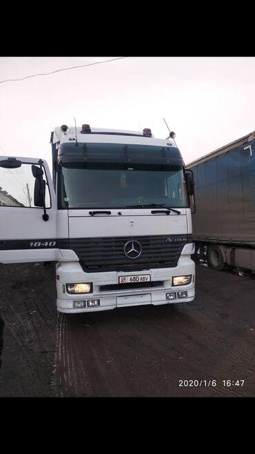 покупка грузового автомобиля в Кыргызстан: Продаю Актрос 1999 года дисковые тормоза, прицеп 2002 года саф дисковы