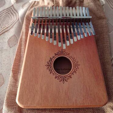 инструменты для маникюра бишкек в Кыргызстан: Калимба 17-ти язычковая.Не знаете что подарить - вот отличный подарок!