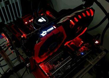 8 компьютеров в Кыргызстан: GTX 1070 MSI GAMING X 8GB Пломба на месте
