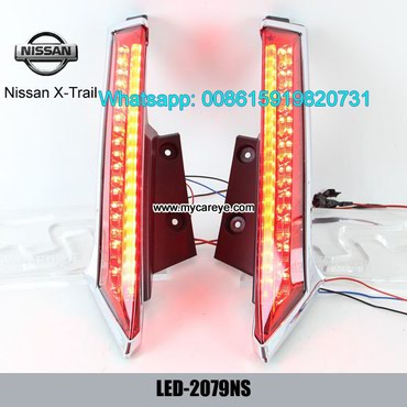 Nissan X-Trail Car LED running Bumper Brake Parking Warning LED Lights in Tīkapur