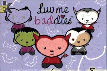 Kinder Luv Me Buddies (2012) PUZZLE - 1/4 - Cacak