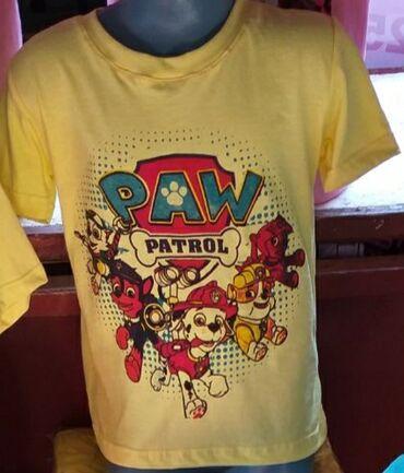 Patrolne šape majice za decu, veličine od 2-10