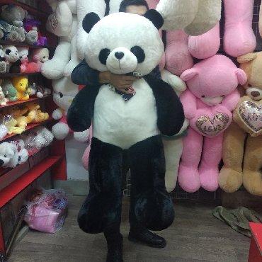 шредеры 130 компактные в Кыргызстан: Мишка, размер 130 см, панда, мишки,мягкие игрушки, плюшевые медведи,ма