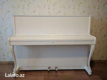 Bakı şəhərində Alman istehsalı pianino Geyer - ünvana çatdırılma, köklenme, 5 il
