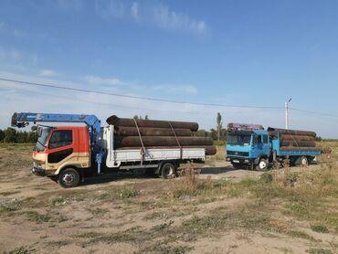 transport v gory в Кыргызстан: МАНИПУЛЯТОР УСЛУГИ кран 3т борт 5т длина стрела 8м