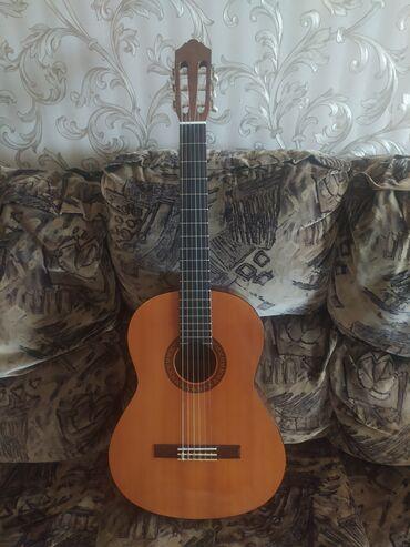 Спорт и хобби - Кок-Джар: Продаю гитара Ямаха с45, в хорошем состоянии