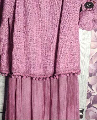 Итальянское платье  Материал Шёлк + Шерсть (Есть расцветки)