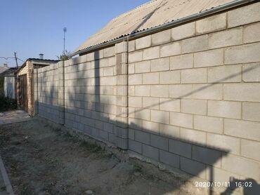 Пескоблок пеноблок кирпич чёрнова кладка дом времянка сарай забор