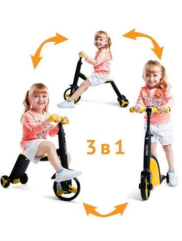 атоми омега 3 для детей в Кыргызстан: Трансформеры    3 в 1   велосипед самокат и беговел !!!  На гелиев