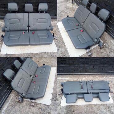 Продаю третий ряд сидений на Toyota Land Cruiser 200 1 гг. Цвет темно-