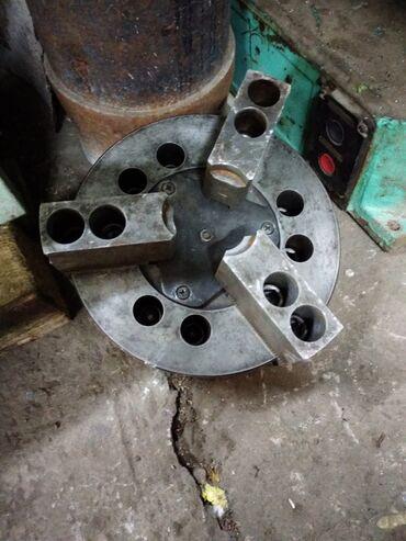 токарные патроны в Кыргызстан: Патрон пневматический на токарный станок