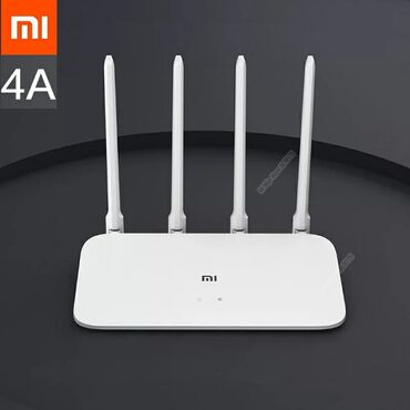 Электроника - Гульча: Роутер xiaomi mi wifi router 4с - c высоким коэффициентом усиления