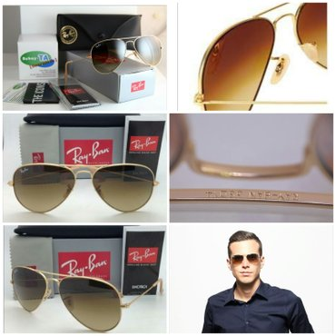 RAY BAN 3025 AVIATOR LARGE METAL 112/85 58[]14 3N Made in - Nis