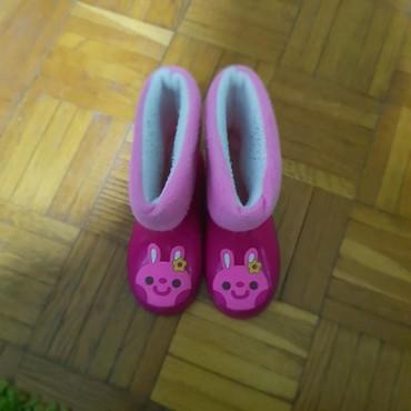 Dečija odeća i obuća - Majdanpek: Gumene cizme br.25 postavljene,postava se vadi tako da olaksava