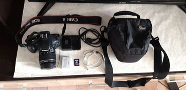 фотоаппарат canon 10 мегапикселей в Кыргызстан: Срочно продаю canon 600d в идеальном состоянии.   полупрофесиональны