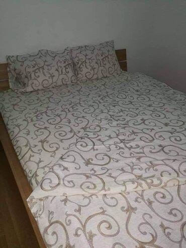 Bracni krevet - Srbija: 2100PAMUCNA POSTELJINA ZA BRACNI KREVETDIMENZIJE :2 JASTUCNICE