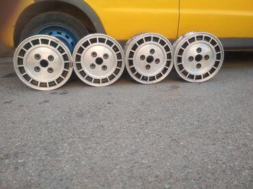 шины 13 радиус бу в Кыргызстан: Продам олдскульные диски R13 Enkei 5Jx13 ЕТ45Разболтовка