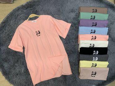 Милые футболки с изображением Панды!Размер-стандарт!Новая!Цена-750