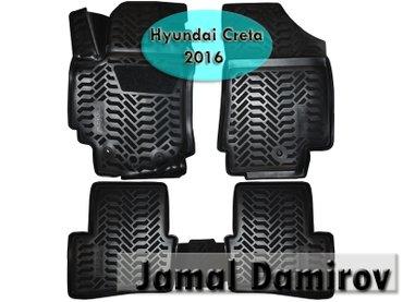 Bakı şəhərində Hyundai creta 2016 üçün poliuretan ayaqaltılar.
