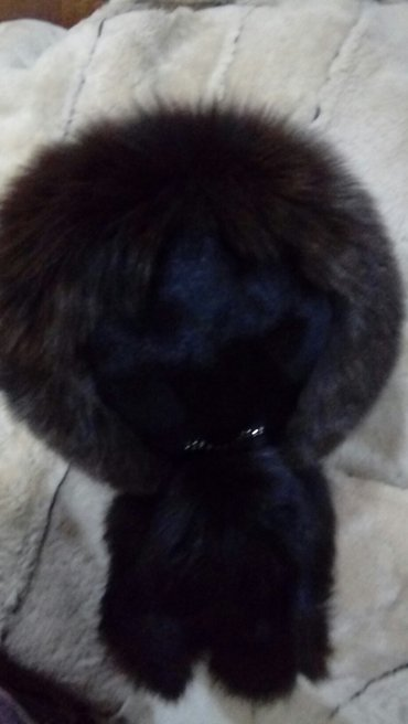 Шапку-для-девочки - Кыргызстан: Продаю зимнюю шапку-малакай, очень тёплая