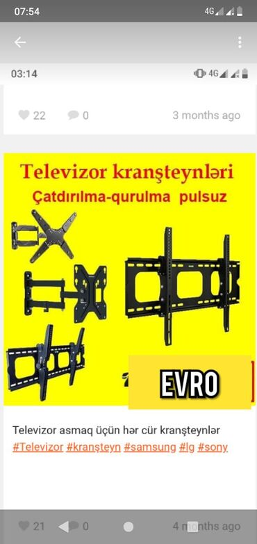 Kransteyin tv televizor smart tv