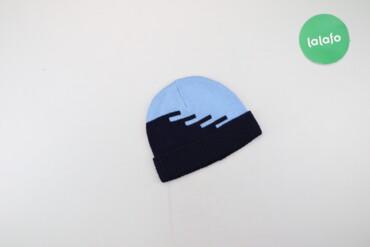 Дитяча шапка з візерунками   Висота: 17 см Напівобхват голови: 21 см