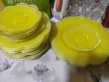 luminarc francuzskoe steklo в Кыргызстан: Продаю посуду б/у, не полный комплект