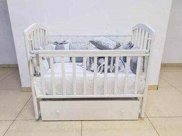 Кроватка Алита 4 на маятнике в Бишкек