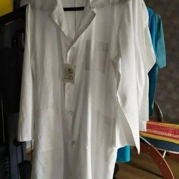 Медицинская одежда - Кыргызстан: Халаты медицинские новые кастюмы хирургические 100% х/б заводской