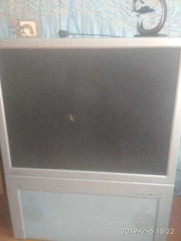 Проекционный телевизор Philips. Требуется ремонт, перегорела лампа. в Бишкек
