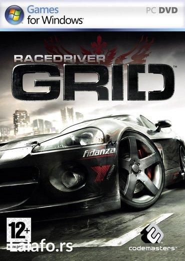 Race Driver GRID igra za pc (racunar i lap-top)   ukoliko zelite - Boljevac