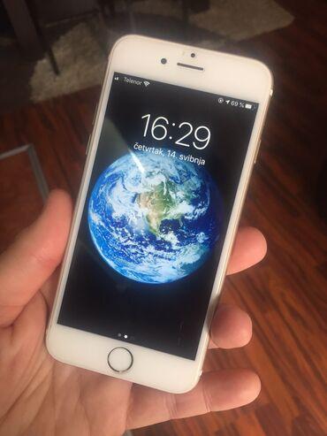 Apple Iphone   Srbija: HITNOOOO Iphone 6s 16gb gold-zlatni, sim free u lepom stanju 9/10