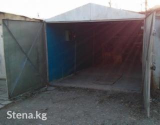 Гараж металлический, 6*3 погреб, яма, электричествакруглосуточная ох в Бишкек