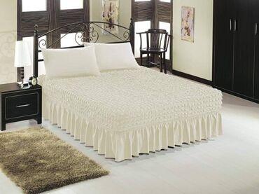 Bracni krevet - Srbija: Prekrivaci za bracni krevet i dve jastucnice cena 5500 din