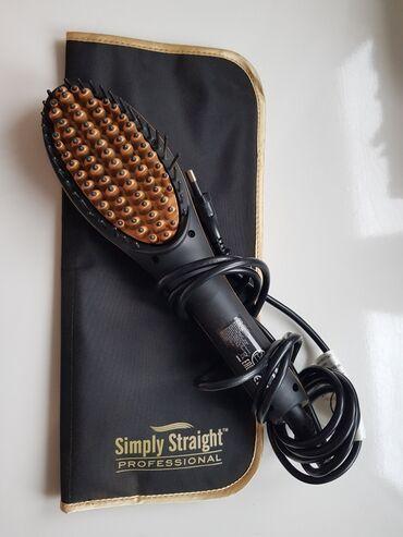 Zrndks msjica kratki tukavi prlj toze rolka za bt - Srbija: Četka/pegla za kosu Simply Straight ProfessionalLCD ekran - pokazuje
