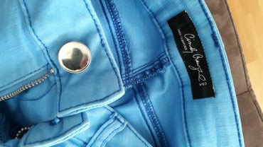 Cindy Craford za C&A farmerke predivne plave boje.Velicina M - Belgrade