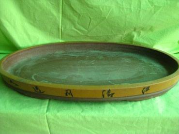 Подносы в Кыргызстан: Огромное блюдо-поддон.  Керамика. Китай. Ручная работа!!! Красивое, тя