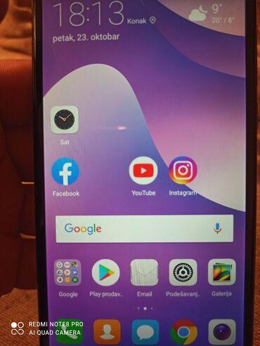 Mobilni telefoni i aksesoari - Srbija: Huawei Y7 Prime 20183gb/32 mem. Nazad dve kamere blic, prednja kamera