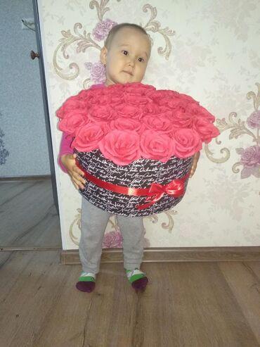 Рукоделие - Кыргызстан: Цветы из бумаги, ручная работа
