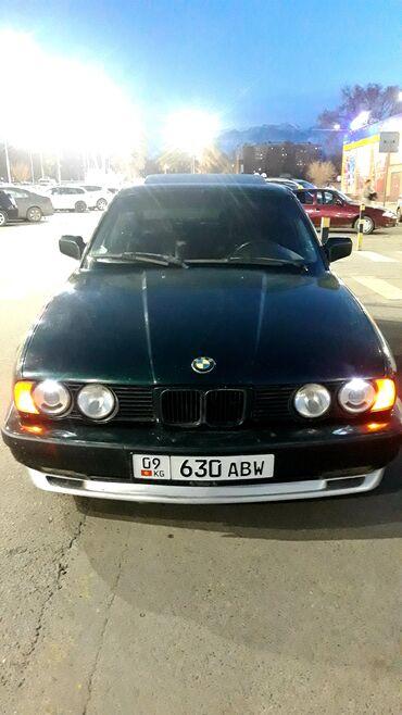 BMW - Зеленый - Бишкек: BMW 520 2 л. 1990 | 234697 км